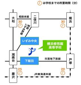 横浜 駅 から ここ